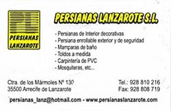 Persianas Lanzarote