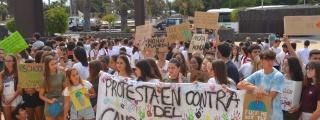El Cabildo de Lanzarote escucha las demandas de los jóvenes contra el cambio climático