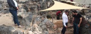 """El Cabildo de Lanzarote continúa con el cartel de """"abierto por obras"""" para las visitas guiadas al Yacimiento de Zonzamas"""