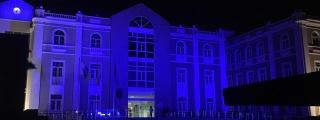 El Cabildo lució 'azul' por la Diabetes