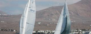 La segunda jornada de la Copa J80 engalanará la bahía de Arrecife