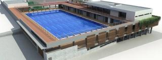 El nuevo Grupo de Gobierno supervisa el proyecto de la futura Piscina Olímpica de la Ciudad Deportiva de Arrecife