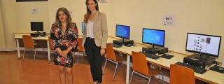La Biblioteca Insular mejora sus servicios con una moderna sala de informática con quince nuevos ordenadores