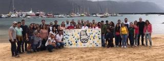 Los JNL, orgullosos de Eduardo Hernández, el joven graciosero que se ha alzado con el Premio Joven Canarias 2019